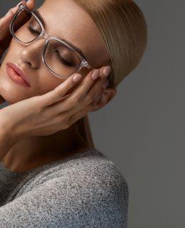 transparente Brillen