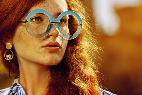 Extravagant glasses
