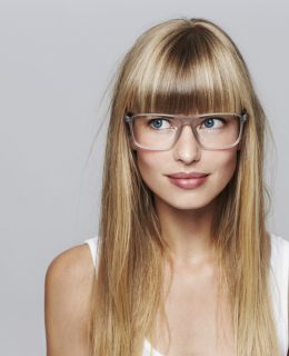 Kann ich meine Brille mit Ponyfrisur tragen