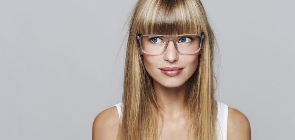 Zopf frisuren brille