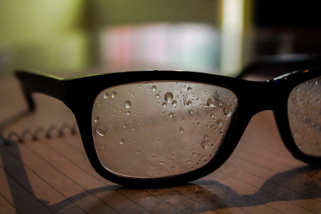 Brillen Probleme - Wetter
